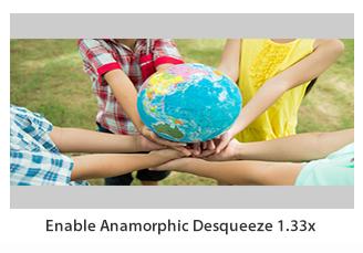 Anamorphic Desqueeze